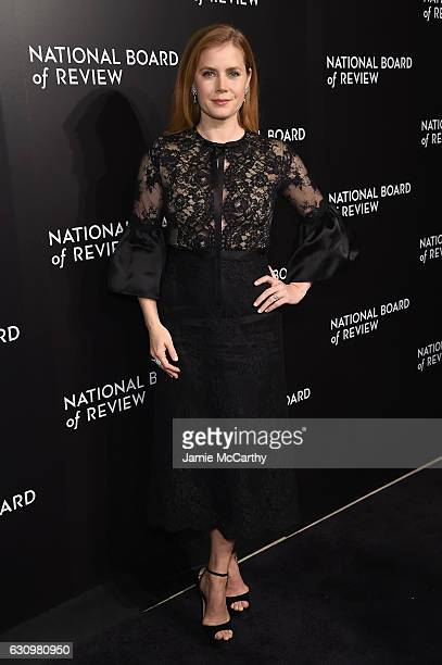 Actress Amy Adams attends the 2016 National Board of Review Gala at Cipriani 42nd Street on January 4 2017 in New York City