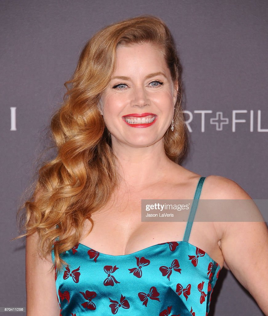Actress Amy Adams attends the 2017 LACMA Art + Film gala at LACMA on November 4, 2017 in Los Angeles, California.