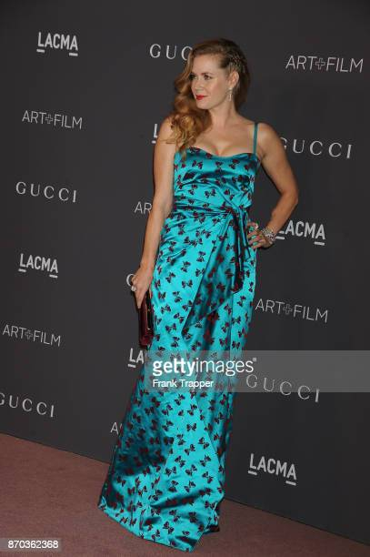 Actress Amy Adams attends the 2017 LACMA Art Fim Gala in Los Angeles California