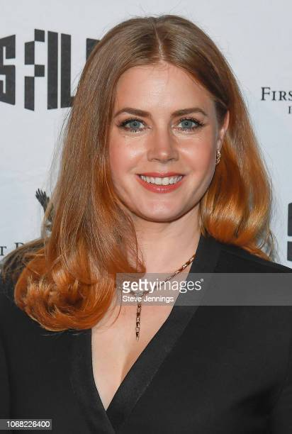 Actress Amy Adams attends the 2018 SFFILM Awards Night to recieve the Peter J Owens Award for Acting at Palace Of Fine Arts Theater on December 3...