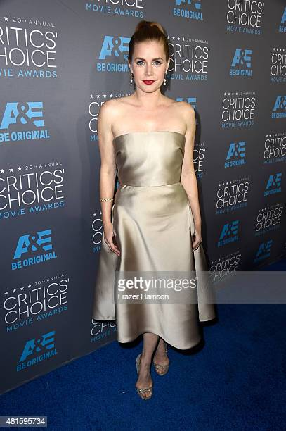 Actress Amy Adams attends the 20th annual Critics' Choice Movie Awards at the Hollywood Palladium on January 15 2015 in Los Angeles California