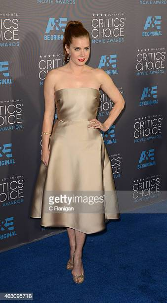 Actress Amy Adams attends The 20th Annual Critics' Choice Movie Awards at Hollywood Palladium on January 15 2015 in Los Angeles California