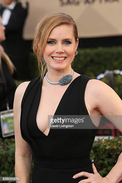 Actress Amy Adams attends the 23rd Annual Screen Actors Guild Awards at The Shrine Expo Hall on January 29 2017 in Los Angeles California