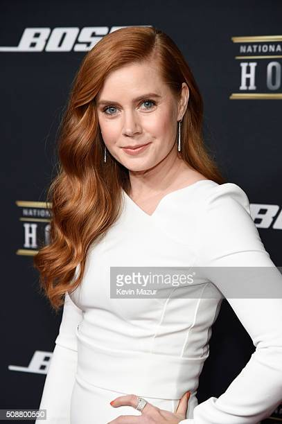 Actress Amy Adams attends the 5th annual NFL Honors at Bill Graham Civic Auditorium on February 6 2016 in San Francisco California