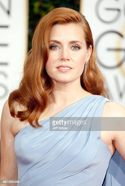 Actress Amy Adams attends the 72nd Annual Golden Globe Awards at The Beverly Hilton Hotel on January 11, 2015 in Beverly Hills, California.