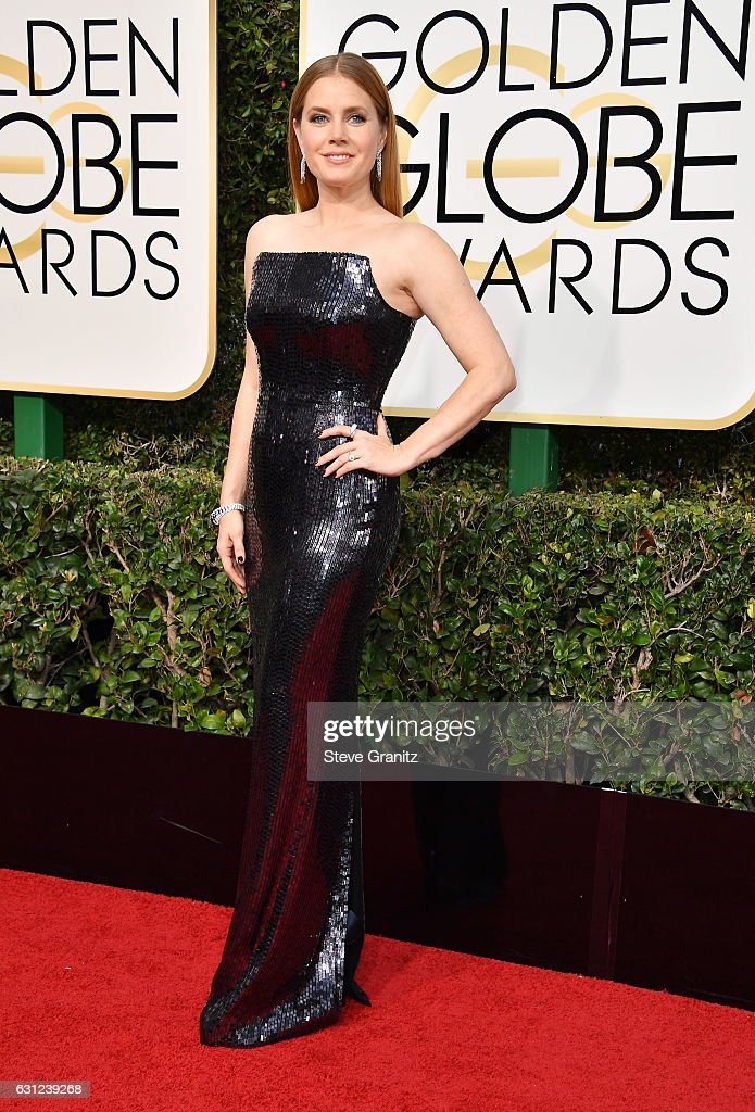 Actress Amy Adams attends the 74th Annual Golden Globe Awards at The Beverly Hilton Hotel on January 8, 2017 in Beverly Hills, California.