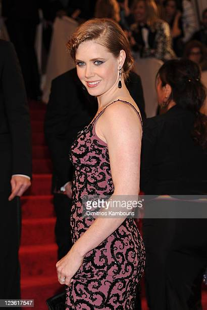 Actress Amy Adams attends the Alexander McQueen Savage Beauty Costume Institute Gala at The Metropolitan Museum of Art on May 2 2011 in New York City