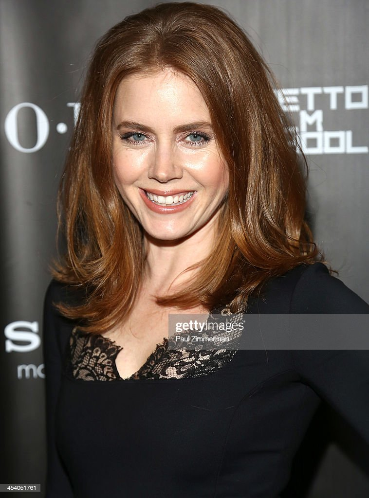 Actress Amy Adams attends the 'American Hustle' screening after party at Monkey Bar on December 6, 2013 in New York City.