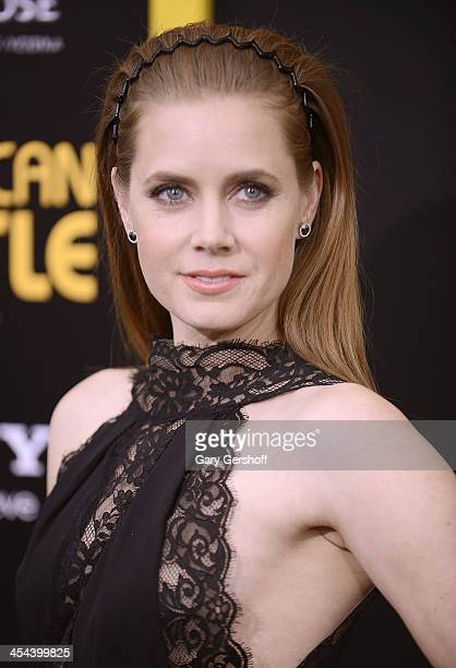 Actress Amy Adams attends the American Hustle screening at Ziegfeld Theater on December 8 2013 in New York City