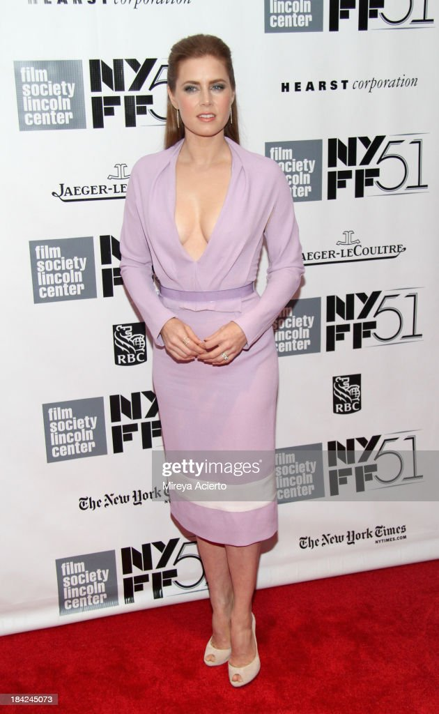 Closing Night Gala Presentation Of 'Her' - Arrivals - The 51st New York Film Festival : News Photo