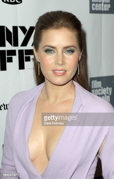 Actress Amy Adams attends the Closing Night Gala Presentation Of 'Her' during the 51st New York Film Festival at Alice Tully Hall at Lincoln Center...