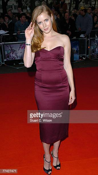 Actress Amy Adams attends the 'Enchanted Premiere' at the Odeon West End as part of the BFI 51st London Film Festival on October 20 2007 in London...