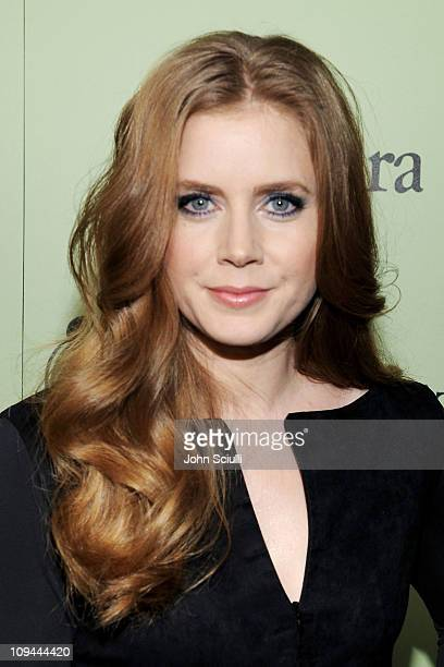 Actress Amy Adams attends the Fourth Annual Women In Film PreOscar Cocktail Party Presented by PerrierJouet at Soho House on February 25 2011 in West...