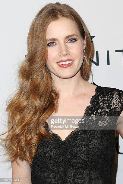Actress Amy Adams attends The Hollywood Reporter Nominees' Night 2013 Celebrating The 85th Annual Academy Award Nominees at Spago on February 4 2013...