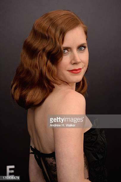Actress Amy Adams attends the 'Man Of Steel' world premiere at Alice Tully Hall at Lincoln Center on June 10 2013 in New York City