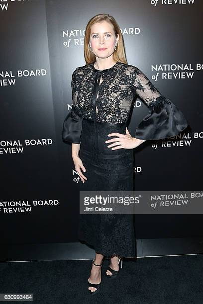 Actress Amy Adams attends The National Board of Review Gala on January 4 2017 in New York City