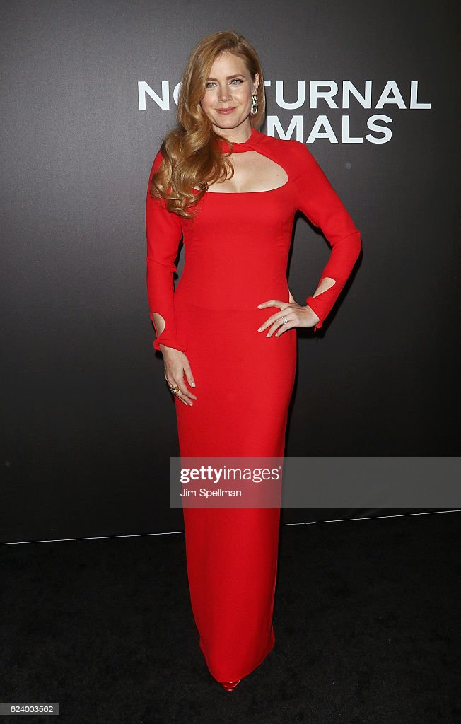 Actress Amy Adams attends the 'Nocturnal Animals' New York premiere at The Paris Theatre on November 17, 2016 in New York City.