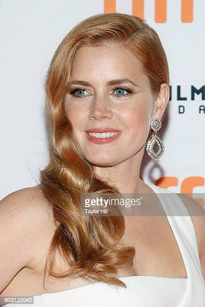 Actress Amy Adams attends the premiere of 'Nocturnal Animals' during the 2016 Toronto International Film Festival at Princess of Wales Theatre on...