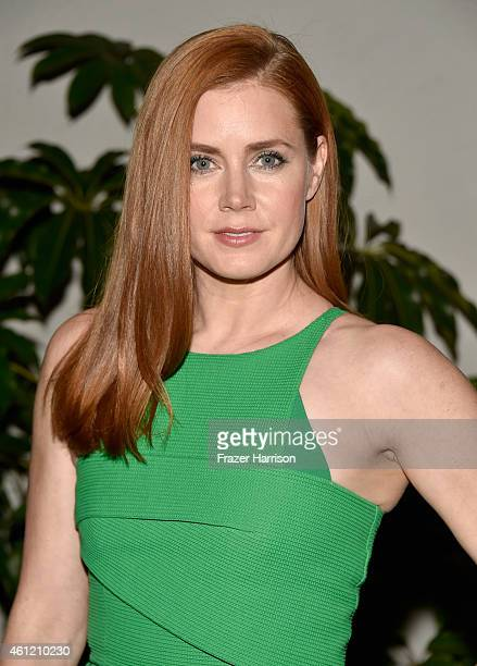 Actress Amy Adams attends the W Magazine celebration of the 'Best Performances' Portfolio and The Golden Globes with Cadillac and Dom Perignon at...