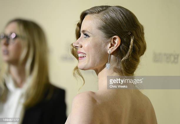 Actress Amy Adams attends The Weinstein Company's 2013 Golden Globe Awards after party presented by Chopard HP Laura Mercier Lexus Marie Claire and...
