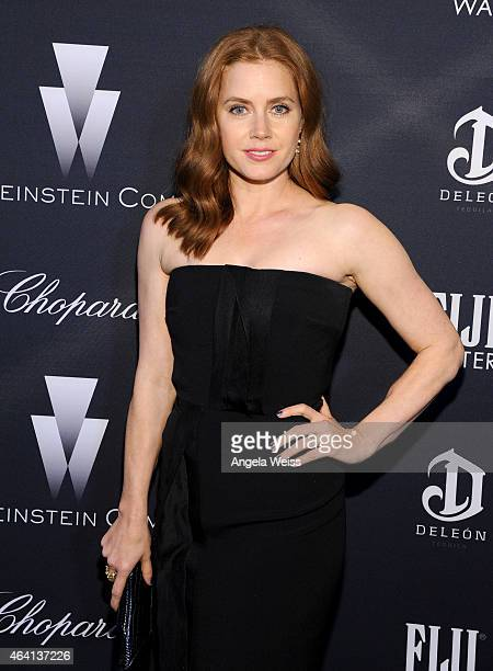 Actress Amy Adams attends The Weinstein Company's Academy Awards Nominees Dinner in partnership with Chopard DeLeon Tequila FIJI Water and MAC...
