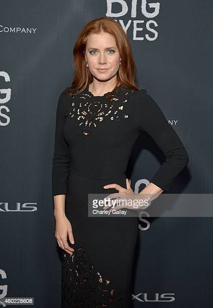 Actress Amy Adams attends The Weinstein Company's Big Eyes Los Angeles special screening in partnership with Lexus at Ace Hotel on December 9 2014 in...