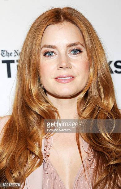 Actress Amy Adams attends TimesTalks to discuss 'Arrival' at Merkin Concert Hall on November 9 2016 in New York City