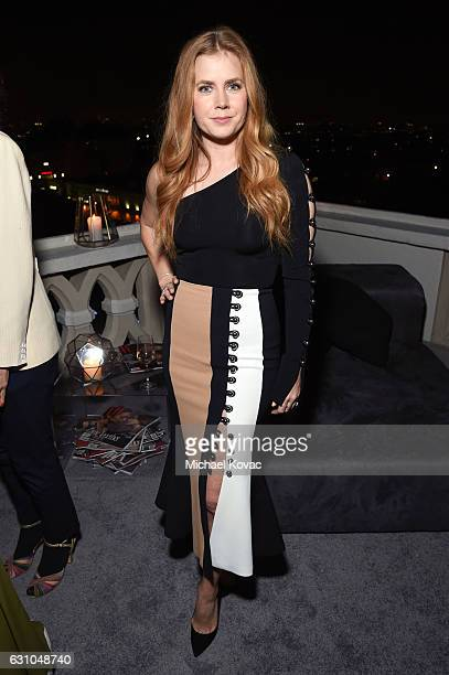 Actress Amy Adams attends W Magazine Celebrates the Best Performances Portfolio and the Golden Globes with Audi and Moet Chandon at Chateau Marmont...