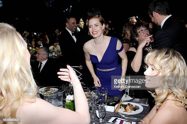 Actress Amy Adams in the audience during the 20th Annual Screen Actors Guild Awards at The Shrine Auditorium on January 18 2014 in Los Angeles...