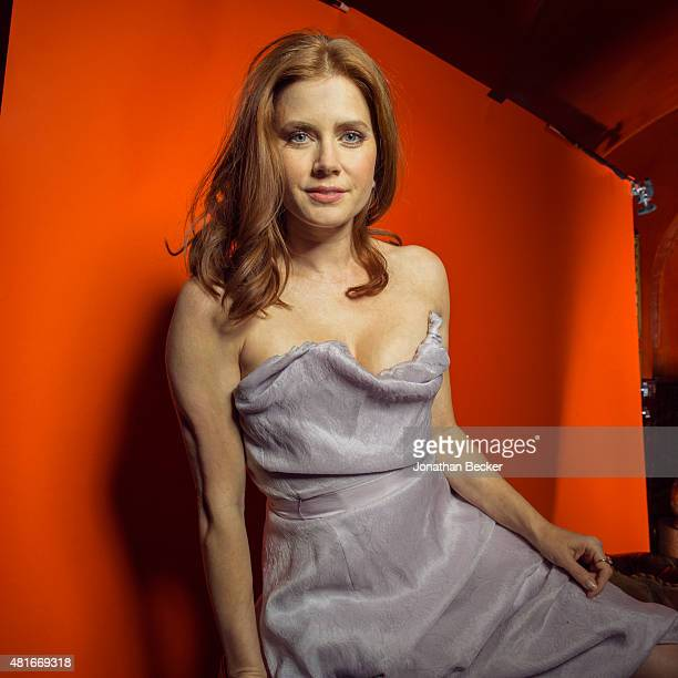 Actress Amy Adams is photographed at the Charles Finch and Chanel's PreBAFTA on February 7 2015 in London England PUBLISHED IMAGE