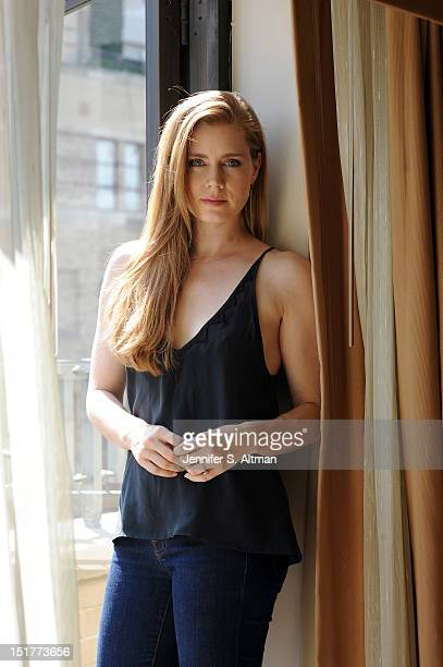 Actress Amy Adams is photographed for Los Angeles Times on August 13 2012 in New York City