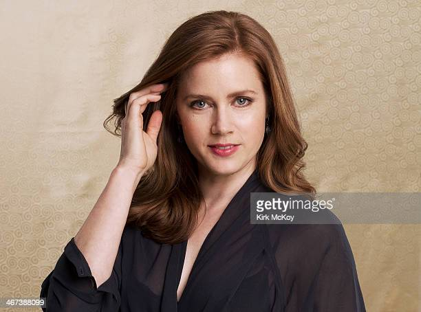 Actress Amy Adams is photographed for Los Angeles Times on January 31 2014 in Beverly Hills California PUBLISHED IMAGE CREDIT MUST BE Kirk McKoy/Los...