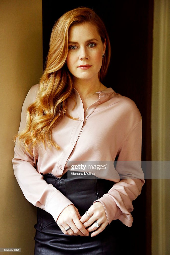 Actress Amy Adams is photographed for Los Angeles Times on October 28, 2016 in Los Angeles, California. PUBLISHED IMAGE.