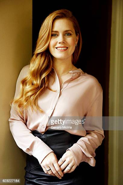 Actress Amy Adams is photographed for Los Angeles Times on October 28 2016 in Los Angeles California PUBLISHED IMAGE CREDIT MUST READ Genaro...