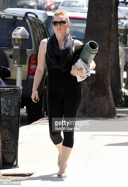 Actress Amy Adams is seen on June 24 2014 in Los Angeles California