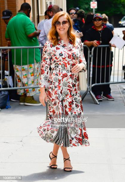 Actress Amy Adams is seen walking in midtown on July 31 2018 in New York City