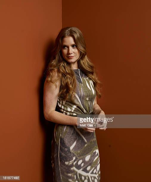 Actress Amy Adams of The Master poses at the Guess Portrait Studio during 2012 Toronto International Film Festival on September 8 2012 in Toronto...