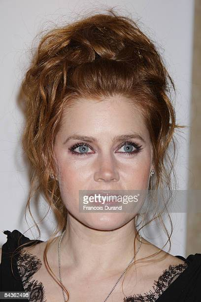 Actress Amy Adams poses at a photocall promoting the new film 'Doubt' on January 19 2009 in Paris France