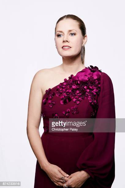 Actress Amy Adams poses for a portrait at the 31st Annual American Cinematheque Awards Gala at The Beverly Hilton Hotel on November 10 2017 in...