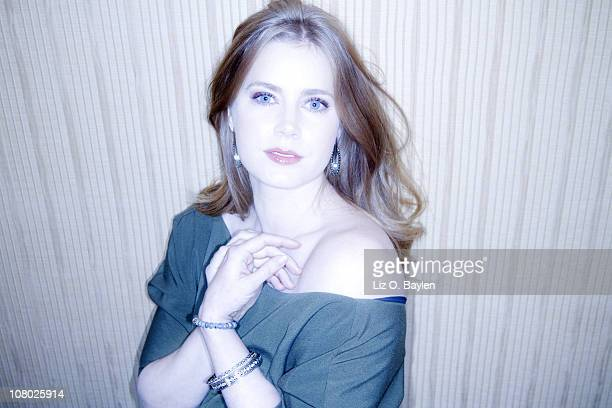 Actress Amy Adams poses for a portrait session on December 2 Beverly Hills California Published Image CREDIT MUST READ Liz O Baylen/Los Angeles...