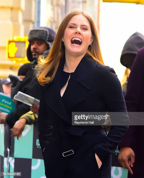 Actress Amy Adams seen outside aol live on December 19 2018 in New York City