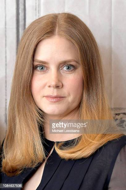 Actress Amy Adams visits Build to discuss the movie Vice at Build Studio on December 19 2018 in New York City