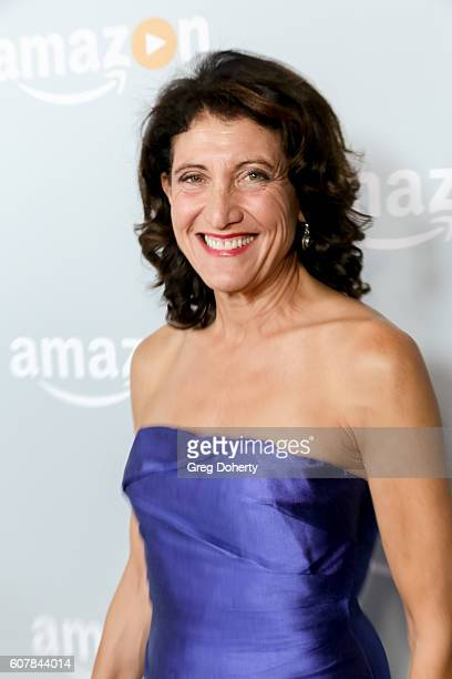 Actress Amy Aquino arrives at the Amazon's Emmy Celebration at the Sunset Tower Hotel on September 18 2016 in West Hollywood California