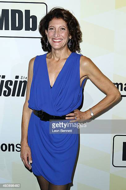 Actress Amy Aquino arrives at the IMDb's 25th Anniversary Party CoHosted By Amazon Studios Presented By Visine Arrivals at Sunset Tower Hotel on...