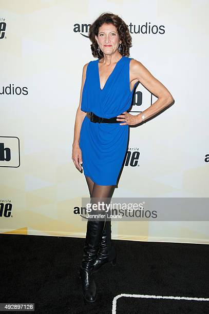 Actress Amy Aquino attends IMDb's 25th Anniversary Party CoHosted by Amazon Studios Presented by Visine at Sunset Tower Hotel on October 15 2015 in...
