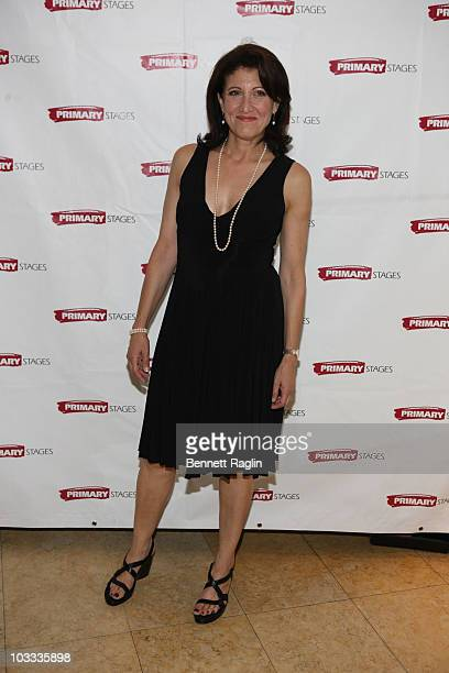 "Actress Amy Aquino attends the after party for the opening night of ""Secrets Of The Trade"" at Sarabeth's on August 10, 2010 in New York City."