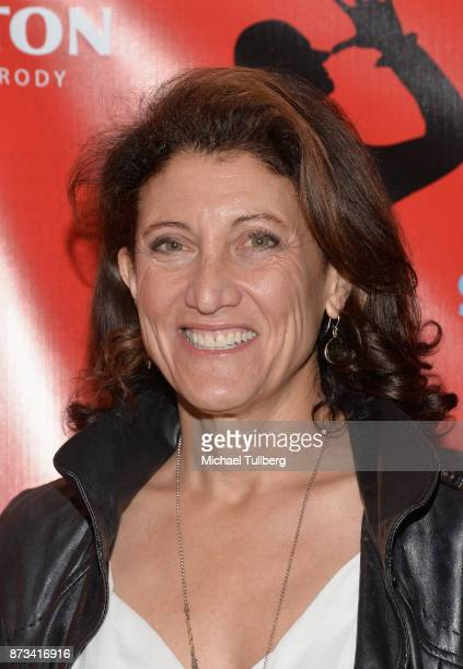 Actress Amy Aquino attends the opening night of 'Spamilton' at Kirk Douglas Theatre on November 12 2017 in Culver City California