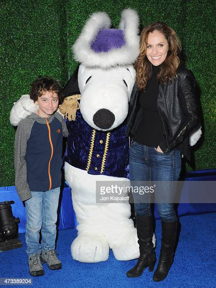 amy brenneman and his son