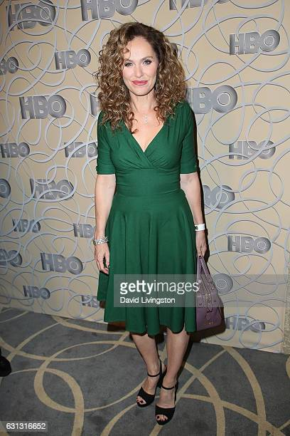 Actress Amy Brenneman arrives at HBO's Official Golden Globe Awards after party at the Circa 55 Restaurant on January 8 2017 in Los Angeles California