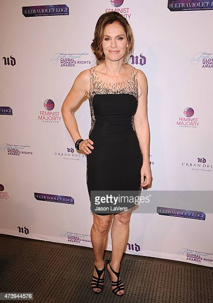 Actress Amy Brenneman attends the 10th annual Global Women's Rights Awards at Pacific Design Center on May 18 2015 in West Hollywood California
